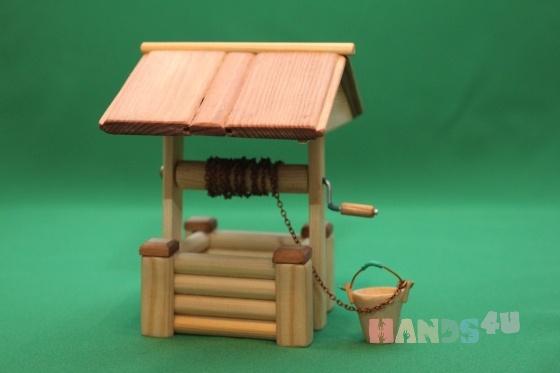 Купить Колодец, Развивающие игрушки, Куклы и игрушки ручной работы. Мастер Виктор Петров (fermer-2) . ферма