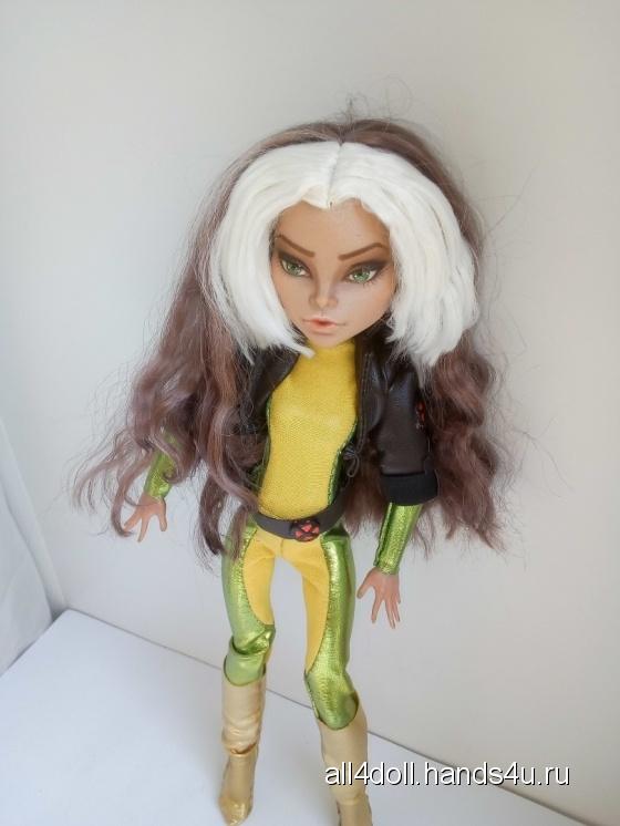Купить кукла ООАК Марвел Шельма (на базе Неферы Монстер Хай), Куклы и игрушки ручной работы. Мастер Ольга Гагарина (ALL4DOLL) .