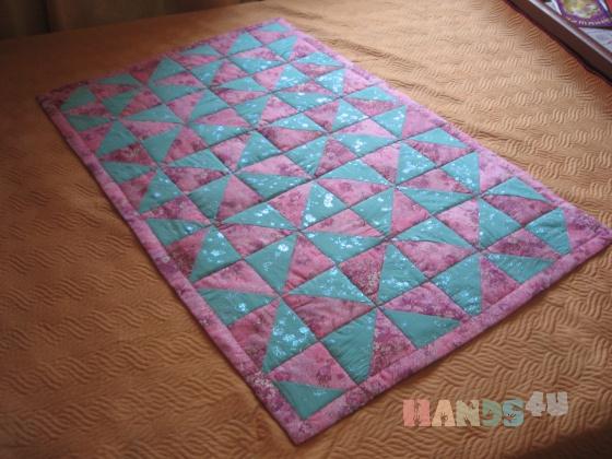 Купить Детское одеяло-коврик Цветочная мельница, Лоскутные, Пледы и одеяла, Работы для детей ручной работы. Мастер Мария Медведева (masssunka) . одеяло коврик