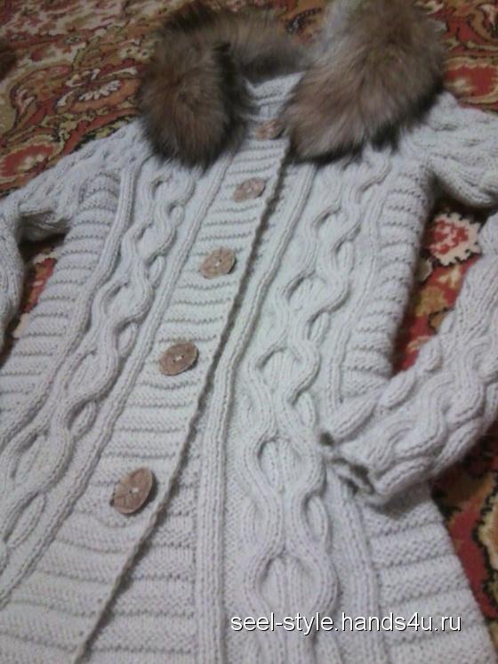 Купить пальто-кардиган, Пальто, Верхняя одежда, Одежда ручной работы. Мастер Елена Семенова (SeeL-style) .