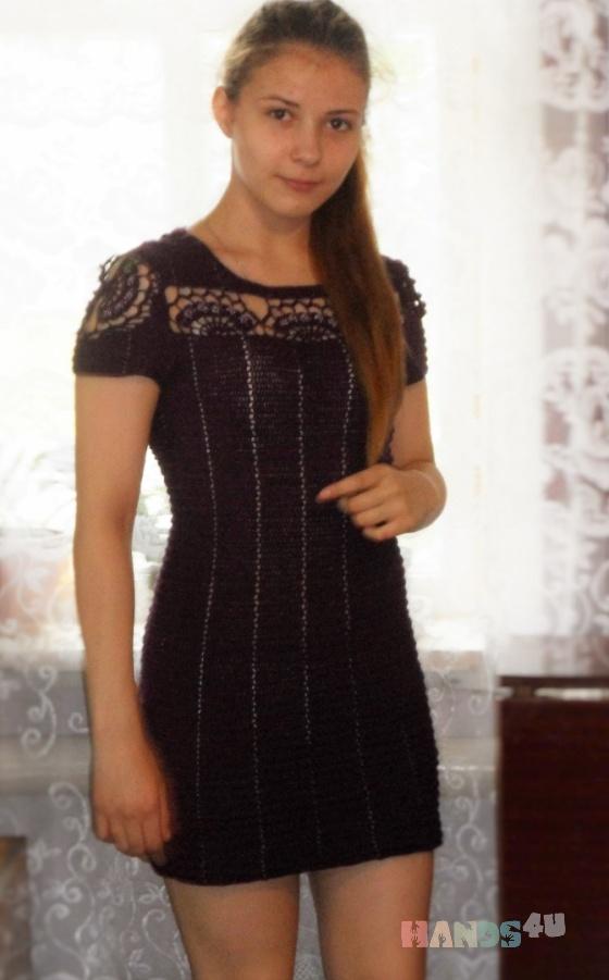 Купить Платье, Вязаные, Повседневные, Платья, Одежда ручной работы. Мастер  Герасимова (89277140642) . вязаное крючком платье