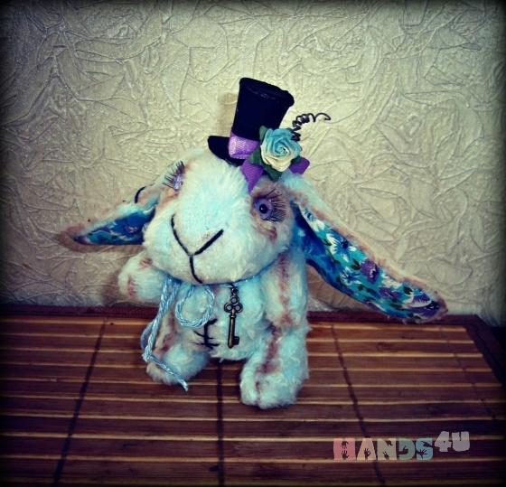 Купить Заяц, Зайцы, Зверята, Куклы и игрушки ручной работы. Мастер Ольга Павлова (Rukodelniza) .
