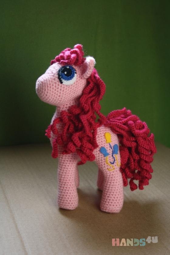 Купить пони Пинки Пай, Другие животные, Зверята, Куклы и игрушки ручной работы. Мастер Елена Гриценко (grena) . my little pony