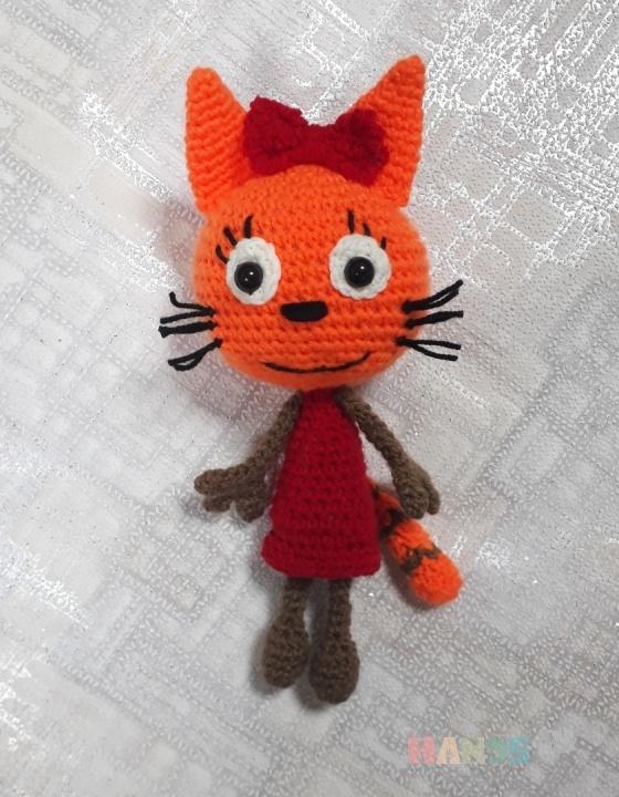 Купить карамелька, Куклы и игрушки ручной работы. Мастер Светлана Тирских (svetik01) . вязаный кот