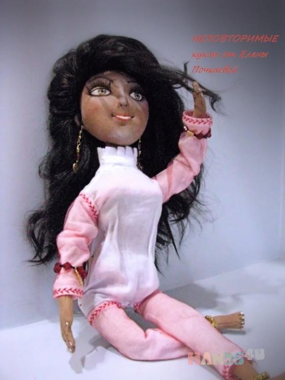 Купить Амира, Текстильные, Коллекционные куклы, Куклы и игрушки ручной работы. Мастер Елена Почкаева (pochkaeva78) .