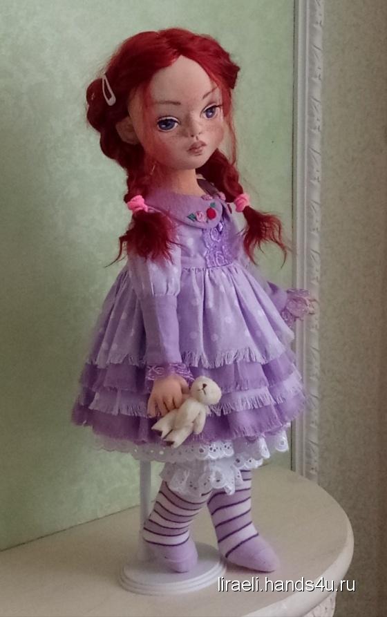 Купить Текстильная кукла, Текстильные, Коллекционные куклы, Куклы и игрушки ручной работы. Мастер Елена Рыбалко (Liraeli) . скульптурно-текстильная кукла