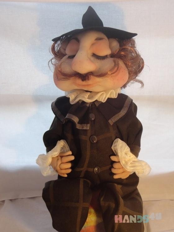 Купить  спящий англичанин, Смешанная техника, Коллекционные куклы, Куклы и игрушки ручной работы. Мастер Gvanca Nikuradze (Gvanca) .