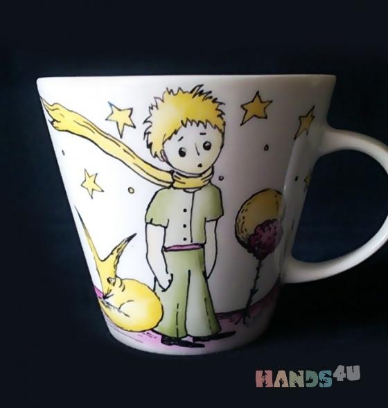 Купить Кружка Маленький принц малая, Посуда ручной работы. Мастер Екатерина Писаревская (Pisari) . авторский подарок
