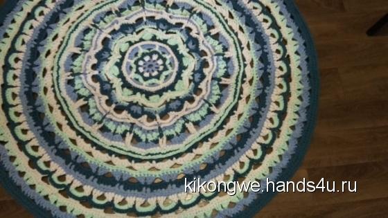 Купить Трикотажный вязаный ковер, Ковры, Текстиль, ковры, Для дома и интерьера ручной работы. Мастер Татьяна Тюль (Kikongwe) . трикотаж хлопковый