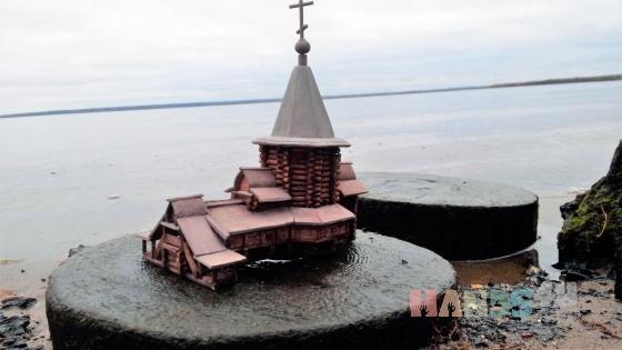 Купить Макет деревянной церкви, Сувениры, Русский стиль ручной работы. Мастер Виктор  (Vikont1970) . натуральное дерево