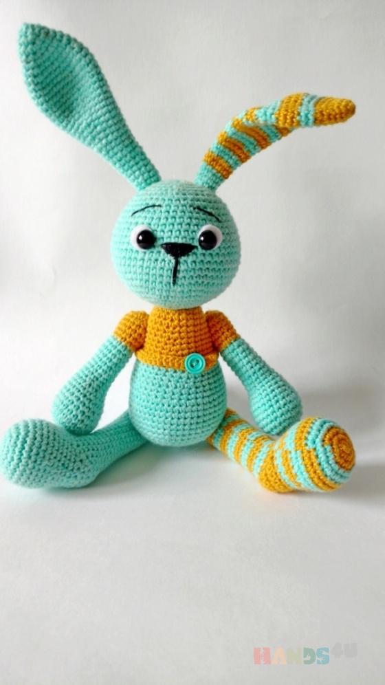 Купить Зайка Стеша, Зайцы, Зверята, Куклы и игрушки ручной работы. Мастер светлана тимофеева (svetlan4k) .