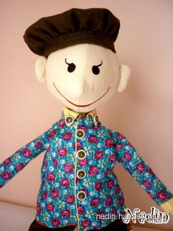 Купить Кукла мальчик, Куклы Тильды, Куклы и игрушки ручной работы. Мастер Nadin R (Nadin) .
