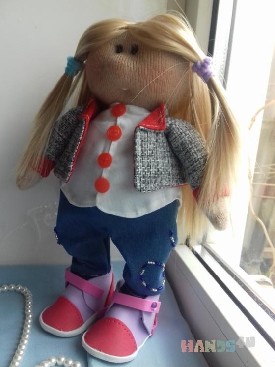 Купить Интерьерная кукла Катя, Куклы Тильды, Куклы и игрушки ручной работы. Мастер Марина Токарева (ba-marina76) . интерьерная кукла