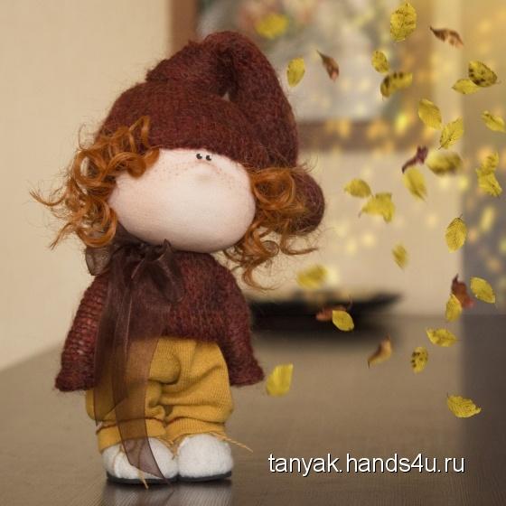 Купить Кукла текстильная ручной работы, Текстильные, Коллекционные куклы, Куклы и игрушки ручной работы. Мастер Татьяна К (TanyaK) . кукла