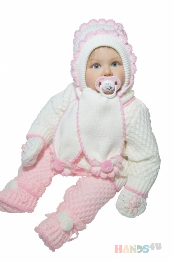 Купить Комплект  Азалия, Для новорожденных, Работы для детей ручной работы. Мастер Наталия  (nataliya) . детский акрил