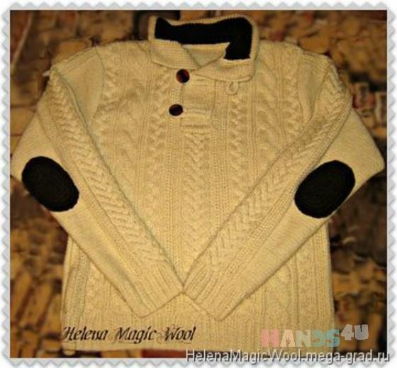 Купить Свитер мужской, Свитера, Для мужчин, Одежда ручной работы. Мастер Елена Масур (ElenaMasyr) . свитер мужской