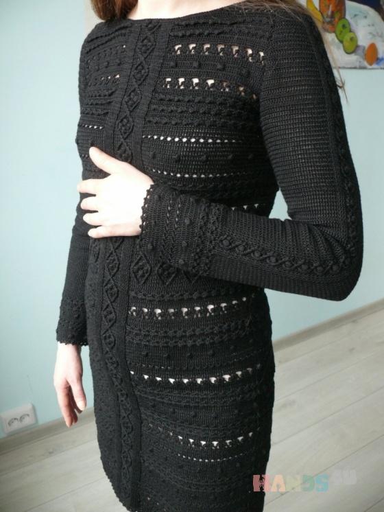e6f0120b7c6 Маленькое черное платье крючком Купить Маленькое черное платье крючком