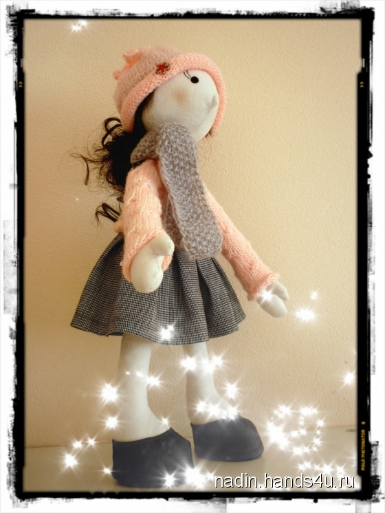 Купить Тыквоголовка, Куклы Тильды, Куклы и игрушки ручной работы. Мастер Nadin R (Nadin) . авторская кукла