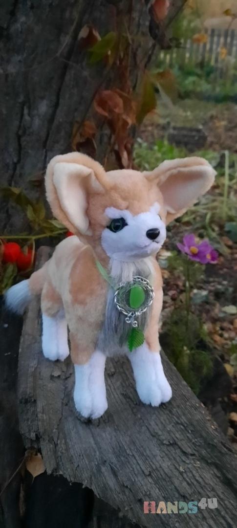 Купить Лиса-фенек, Другие животные, Зверята, Куклы и игрушки ручной работы. Мастер   (Avi) . искусственный мех