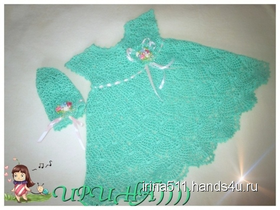 Купить летний комплект, Вязаные, Повседневные, Платья, Одежда ручной работы. Мастер ирина морозова (irina511) . ажурное платье