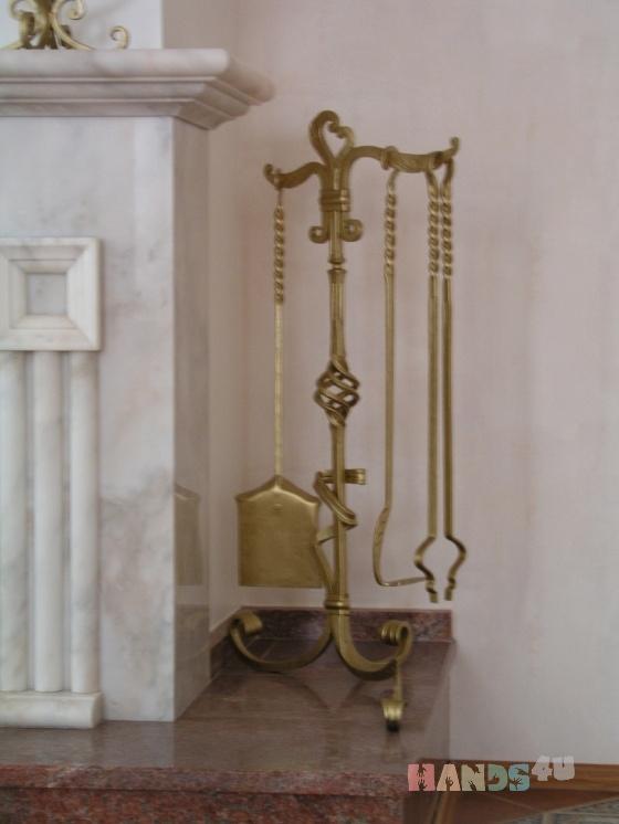 Купить Каминный набор, Пепельницы, Для дома и интерьера ручной работы. Мастер Stone Decor (Decor-Stone) . металл