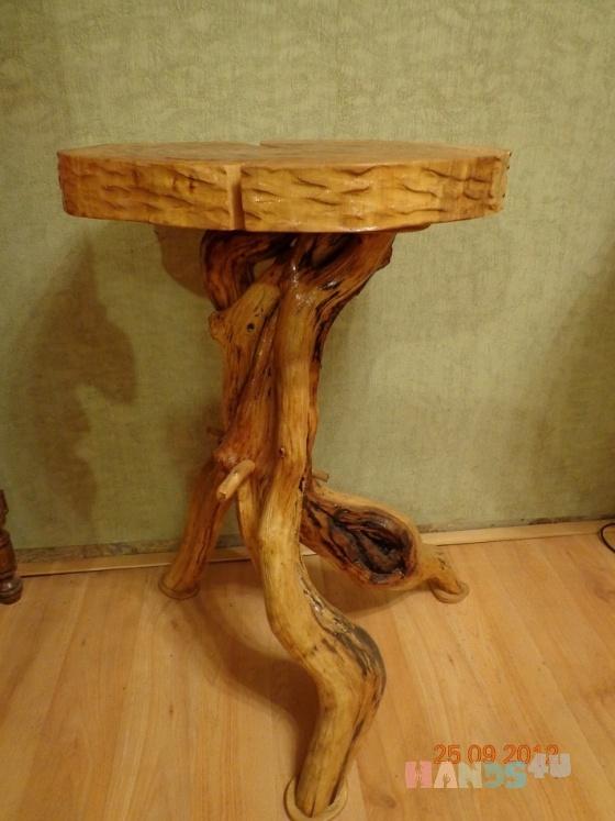 Купить небольшой стол, Столы, Мебель, Для дома и интерьера ручной работы. Мастер Николай Кривов (nkr2008) . береза