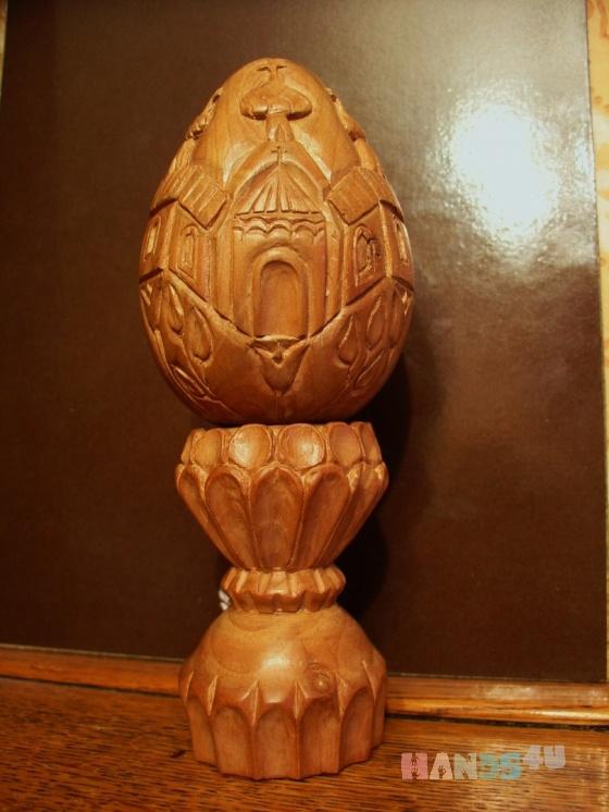 Купить Резное пасхальное яйцо на подставке, Яйца, Сувениры и подарки ручной работы. Мастер Николай Белоносов (NikNik) . пасха