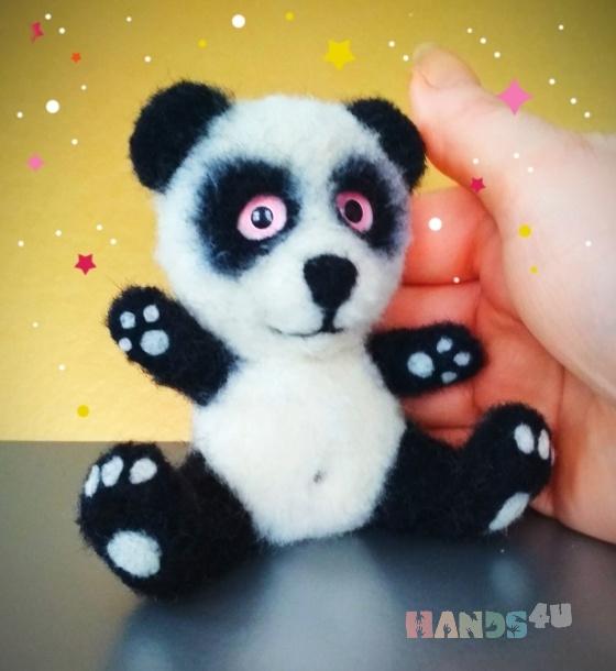Купить Панда игрушка, Мишки, Зверята, Куклы и игрушки ручной работы. Мастер Екатерина Шинкаренко (episton2) . панда