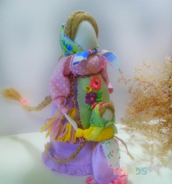 Купить Славянский оберег Ведучка, Народные куклы, Куклы и игрушки ручной работы. Мастер Анастасия Миротворцева (Lukovka) . ведучка