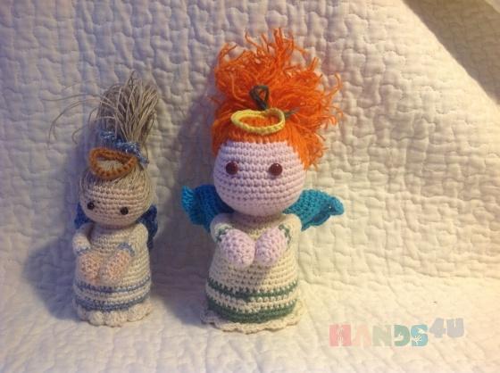 Купить Ангелы, Вязаные, Человечки, Куклы и игрушки ручной работы. Мастер Екатерина Савельева (catttt) . ангел