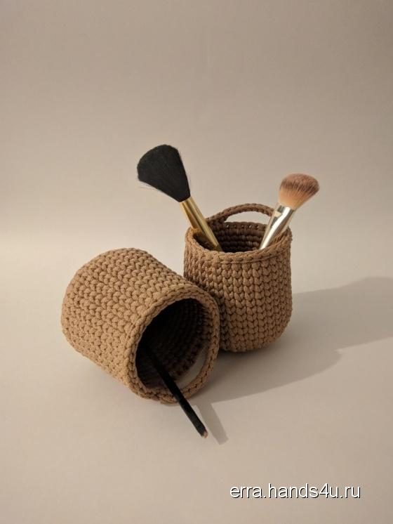 Купить Подвесное лукошко для мелочей, Корзины, коробы, Для дома и интерьера ручной работы. Мастер Жанна Erra (Erra) . полиэфирный шнур