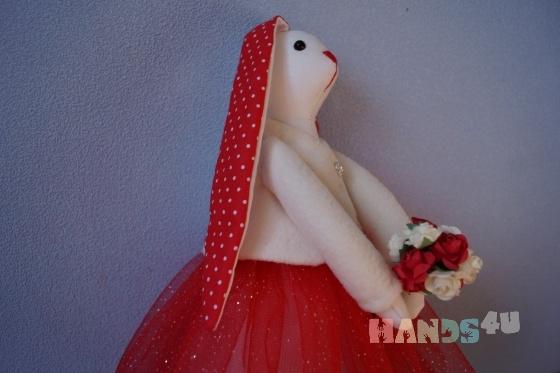 Купить Заяц Тильда, Куклы Тильды, Куклы и игрушки ручной работы. Мастер Ольга Толстых (OLGAandTOYS) . заяц тильда