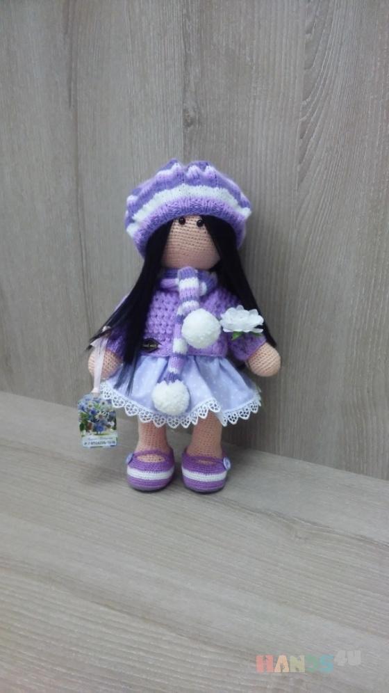 Купить Куколка Женечка, Куклы и игрушки ручной работы. Мастер Марина Федорина (-Fedorina8) .