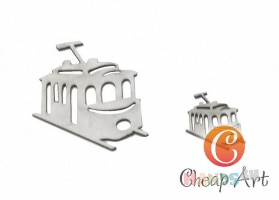 Купить Декоративный элемент Ретро трамвай (2 шт), Промышленные, Декоративные элементы, Декупаж и роспись ручной работы. Мастер   (cheap-art) .