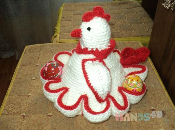 Купить Пасхальная курочка, Для дома и интерьера ручной работы. Мастер Татьяна Катичева (Hrustik77) .