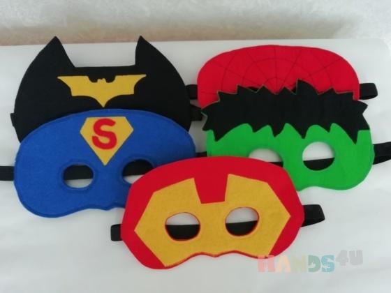 Купить Набор масок супергерои, Куклы и игрушки ручной работы. Мастер Татьяна Солдатова (Tatyana0819) .
