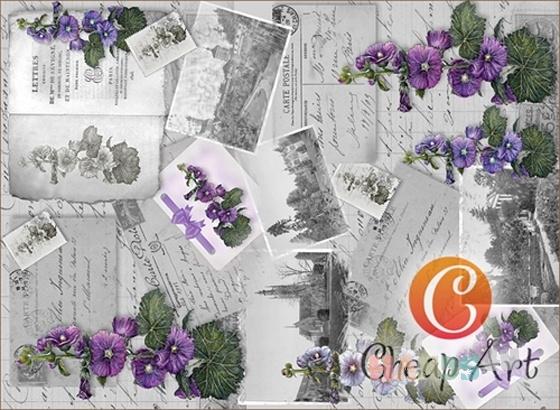Купить Декупажная карта Рейнские баллады мини формат А4, Промышленные, Декупажные салфетки, Декупаж и роспись ручной работы. Мастер   (cheap-art) . декупажная карта