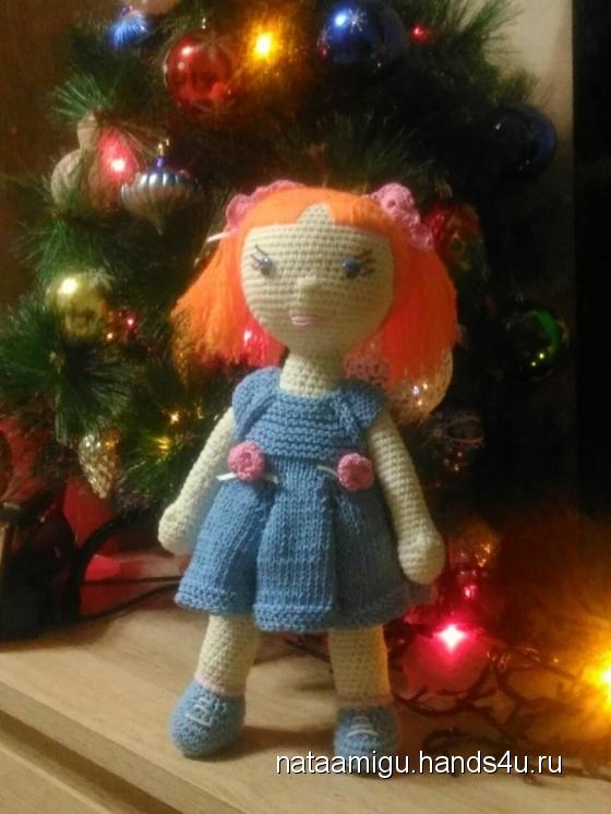 Купить Кукла, Амигуруми, Миниатюра, Куклы и игрушки ручной работы. Мастер Наталия Беленко (Nataamigu) .