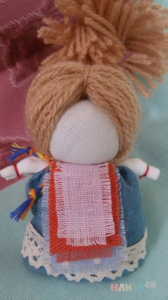 Купить Народная кукла На счастье, Народные куклы, Куклы и игрушки ручной работы. Мастер Анастасия Миротворцева (Lukovka) . кукла на счастье