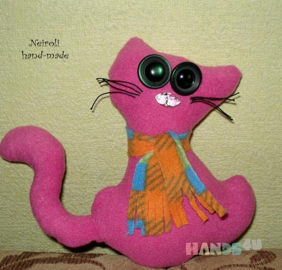 Купить Кот Малинка, Куклы и игрушки ручной работы. Мастер Юлия Карнаух (Neiroli) . игрушка кот