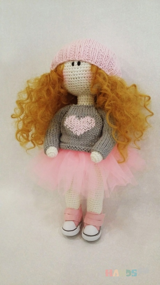 Купить кукла девочка, Вязаные, Человечки, Куклы и игрушки ручной работы. Мастер Людмила Курышева (luyluok1977) . вязаная кукла