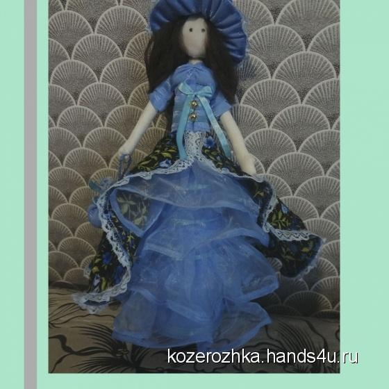 Купить Интерьерная кукла, Куклы Тильды, Куклы и игрушки ручной работы. Мастер Ольга Жукова (Kozerozhka) .