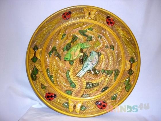 Купить тарела, Для дома и интерьера ручной работы. Мастер елена михайлова (pioner) . дерево - липа