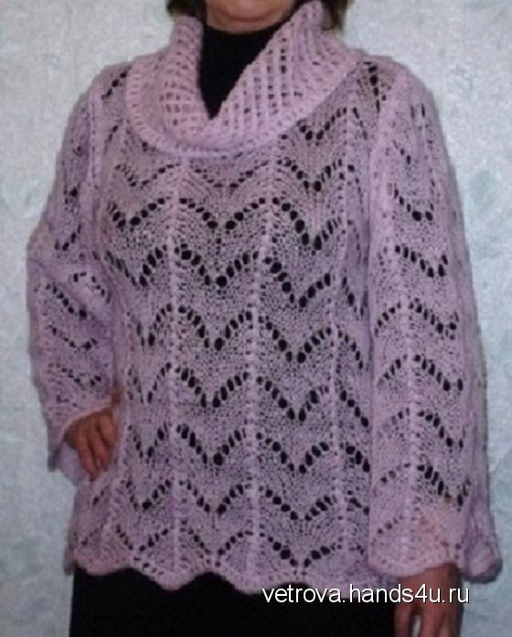 Купить Джемпер Розовый туман, Джемпера, Кофты и свитера, Одежда ручной работы. Мастер Екатерина Ветрова (VetroVa) . джемпер