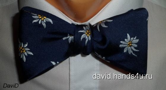 Купить Галстук-бабочка для самостоятельного завязывания Ромашки, Галстуки, бабочки, Аксессуары ручной работы. Мастер Ирина Проп (DaviD) . галстук