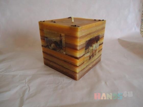 Купить Свеча с фотографией, Cвечи ручной работы, Сувениры и подарки ручной работы. Мастер Мира  (Mira) . свеча