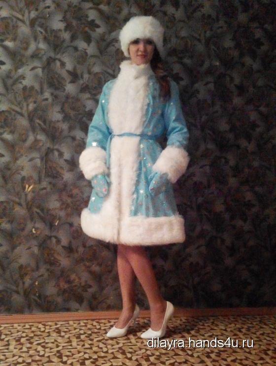 Купить Костюм снегурки, Костюмы, Карнавальные костюмы, Одежда ручной работы. Мастер Диляра Иванова (DILAYRA) .