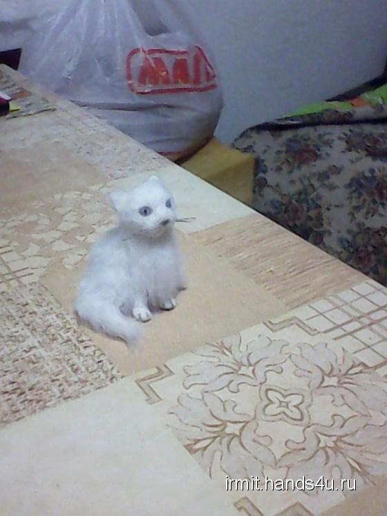 Купить Кошка Машка, Коты, Зверята, Куклы и игрушки ручной работы. Мастер юлия святогор (IRMIT) . 100 пр шерсть