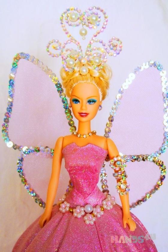 Купить Кукла-шкатулка Цветочный эльф, Персональные подарки, Подарки к праздникам ручной работы. Мастер Врокна Мария (made18) . искусственная ткань