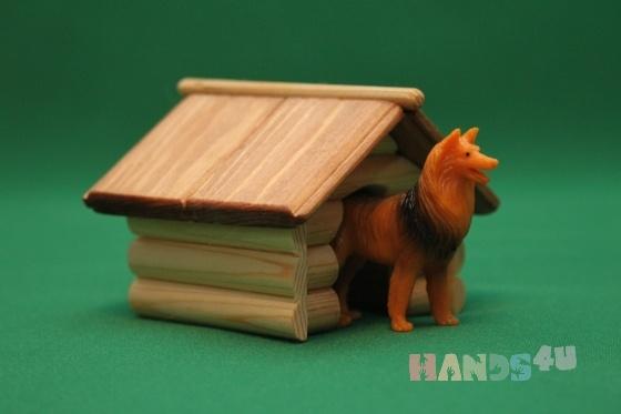 Купить Будка для собачки, Развивающие игрушки, Куклы и игрушки ручной работы. Мастер Виктор Петров (fermer-2) . ферма